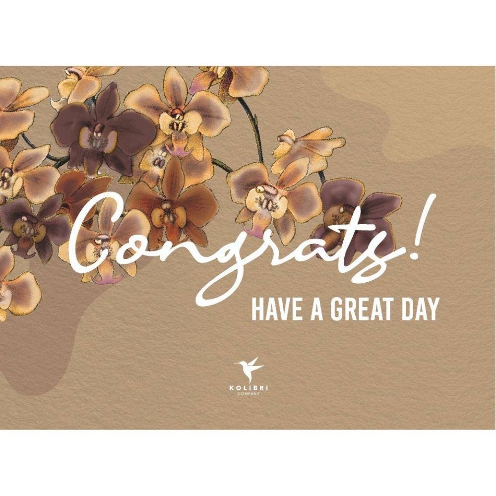 Kolibri Company Ansichtkaart Congratulations