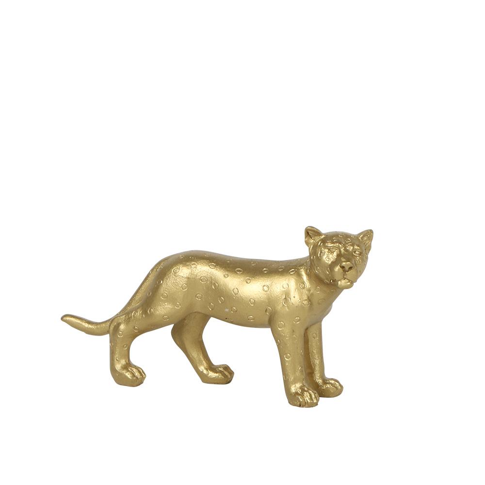 Kolibri Home - Ornamental tijger jaguar goud