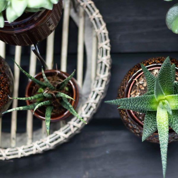 Kolibri Home - Rond bamboe dienblad