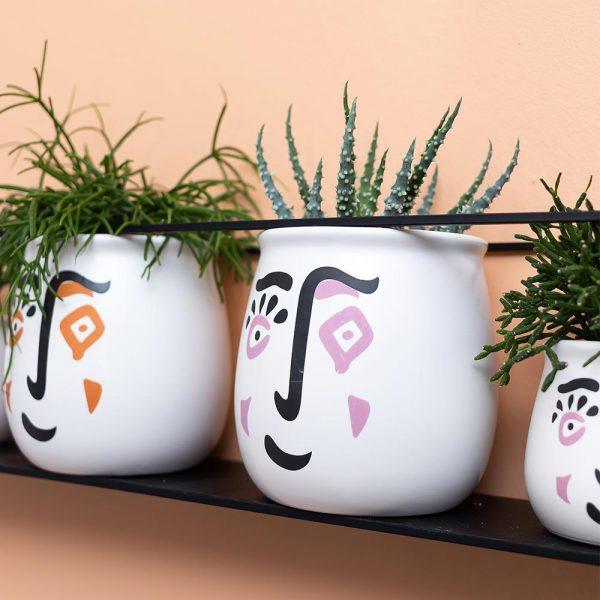 Artwork pot