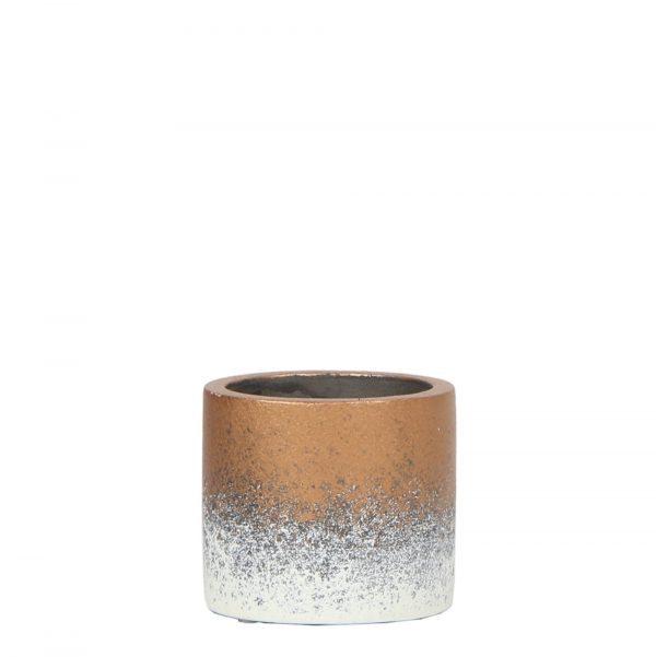 Kolibri Home - bloempot sierpot flame brons 6cm