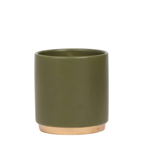 Gold foot pot
