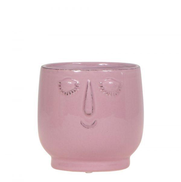 Happy face pot