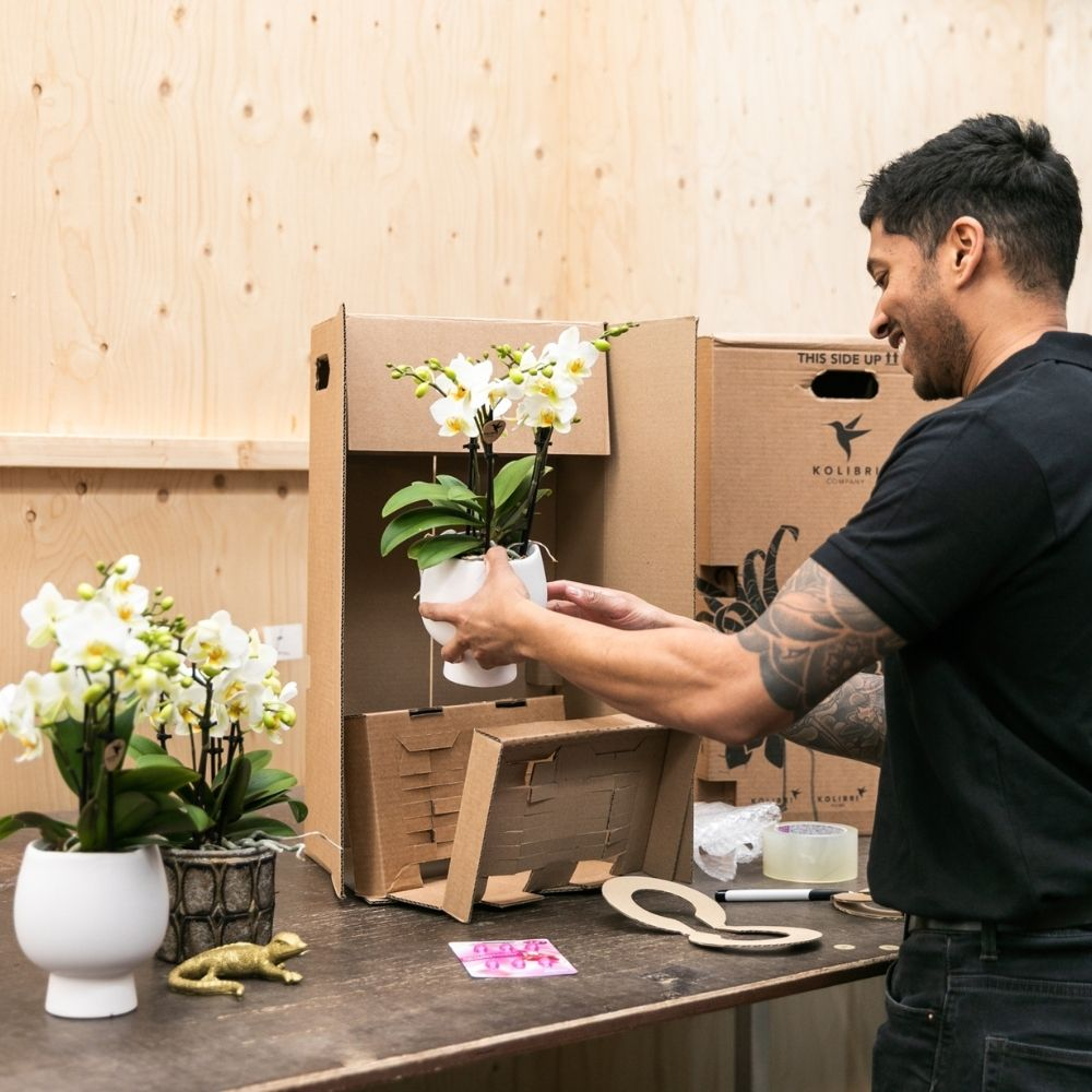 Kolibri Company verzendverpakking